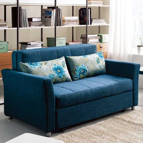 Blue Monte Carlo Sofa Bed
