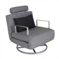 SMOOCH Executive Sofa Bed Grey